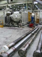 Maintenance de colonne hydraulique industrielle